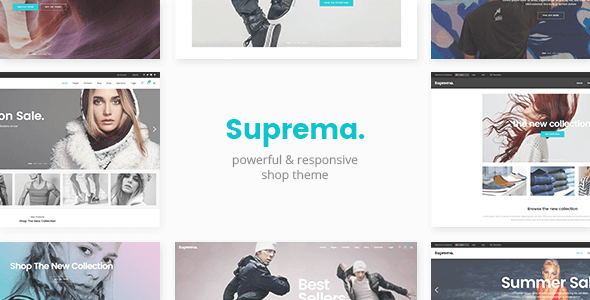 Suprema v1.6 – Multipurpose eCommerce WordPress Theme