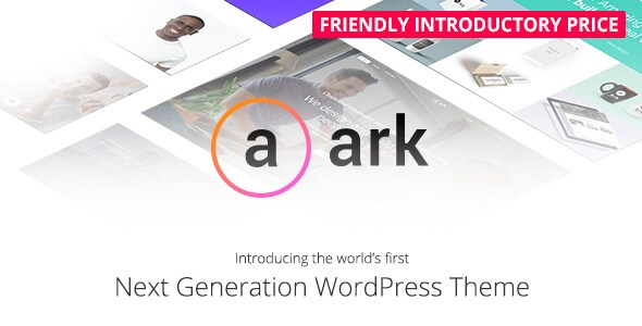 The Ark v1.11.0 – Responsive Next Generation WordPress Theme
