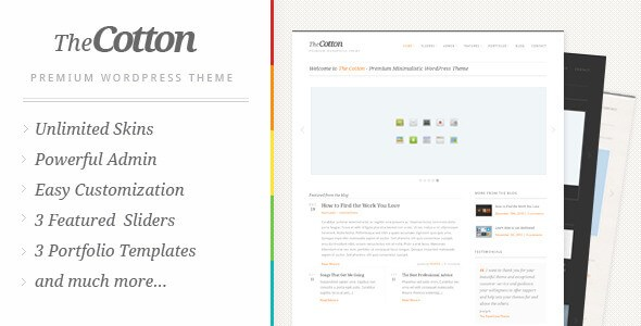 The Cotton v1.3.0 – Responsive Powerful Minimalistic Theme