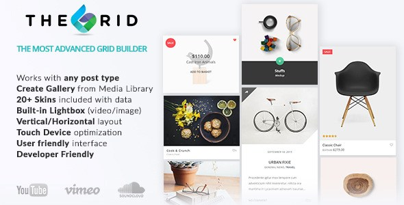 The Grid v1.4.0 – Responsive WordPress Grid Builder Plugin