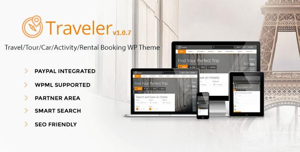 Download – Traveler v1.1.7 Travel/Tour/Booking WordPress Theme