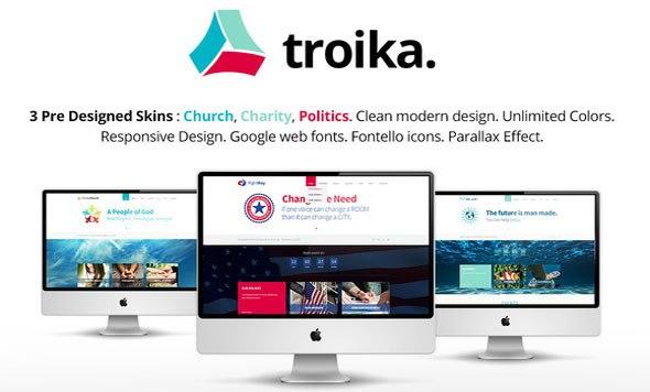 Troika v1.7 – Multipurpose WordPress Theme