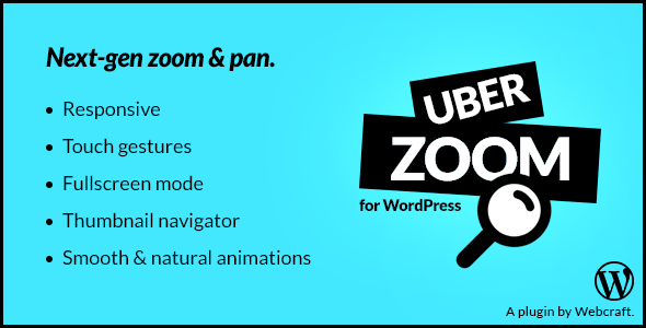Uber Zoom – Smooth Zoom & Pan for WordPress Plugin