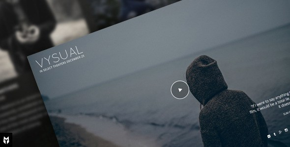VYSUAL – Responsive Film Campaign WordPress Theme