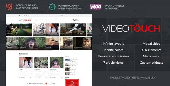 Download – VideoTouch v1.6 – Video WordPress Theme