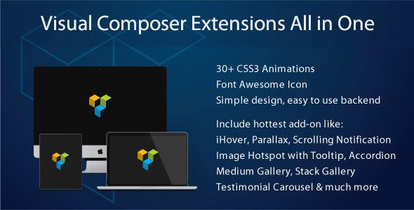 Visual Composer Extensions All In One v3.4.3 Plugin