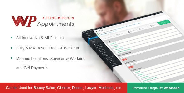 WPAppointments – Paid Appointments System WP Plugin