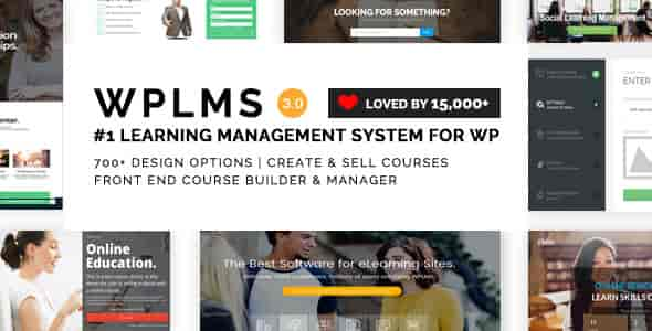 WPLMS v2.0.6 – Learning Management System WP Theme