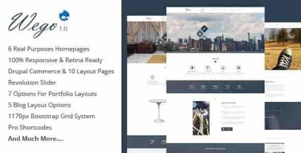 Wego v1.0.1 – Responsive Business Premium Drupal 7 Theme
