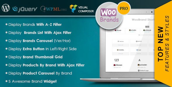 WooCommerce Brands Pro v4.3.5 – Premium WordPress Plugin