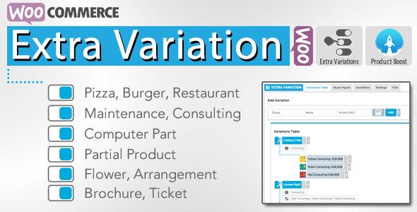 WooCommerce Extra Variation v3.0.3 – Premium WordPress Plugin
