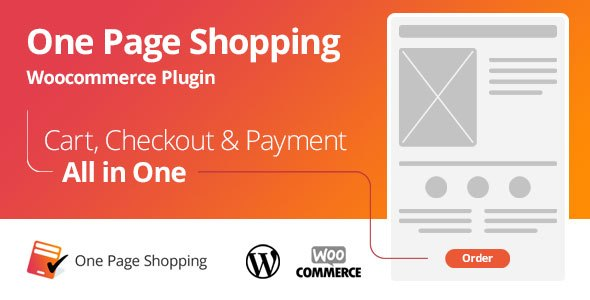 WooCommerce One Page Shopping v2.5.4 WordPress Plugin