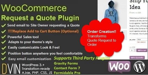 Request a Quote v2.48 – WooCommerce WordPress Plugin