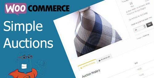 WooCommerce Simple Auctions v1.12.9 WordPress Plugin
