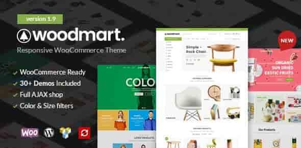 WoodMart v1.9 – Responsive WooCommerce WordPress Theme