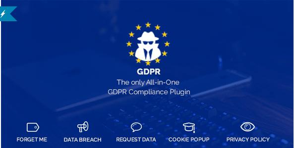 WordPress GDPR v1.0.9 – All-in-One GDPR Compliance plugin