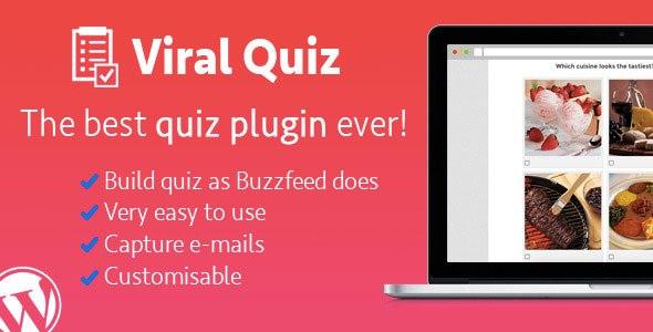 WordPress Viral Quiz v2.09 – BuzzFeed Quiz Builder Plugin