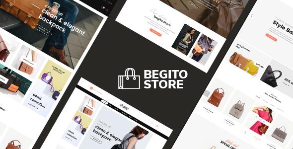 BEGITO V1.0 - BAG STORE RESPONSIVE PRESTASHOP 1.7 THEME