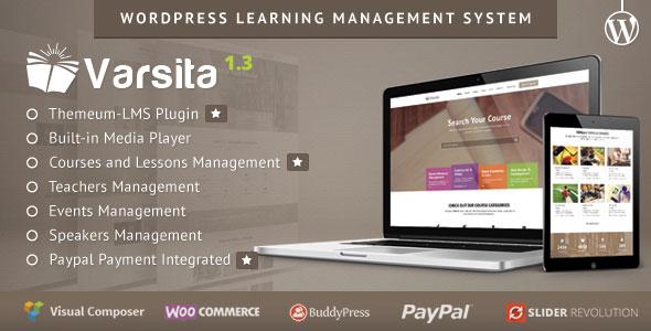 VARSITA V1.3 - WORDPRESS LEARNING MANAGEMENT SYSTEM