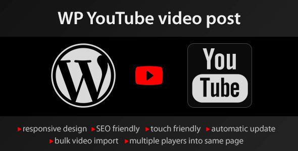 YouTube WordPress plugin v1.4.6 – WordPress Video Import plugin