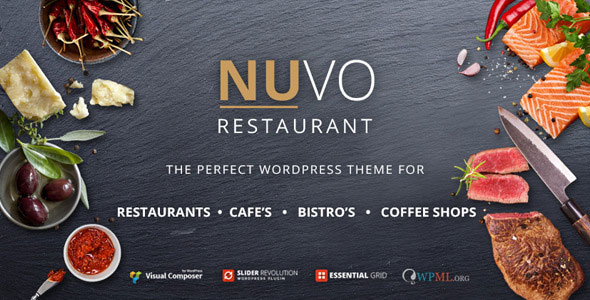 NUVO V6.0.7 - RESTAURANT, CAFE & BISTRO WORDPRESS THEME