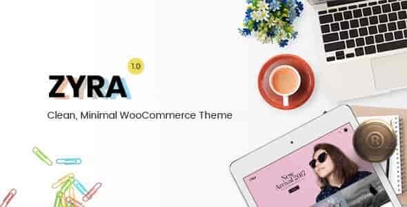Zyra v1.0.3 – Clean, Minimal WordPress WooCommerce Theme