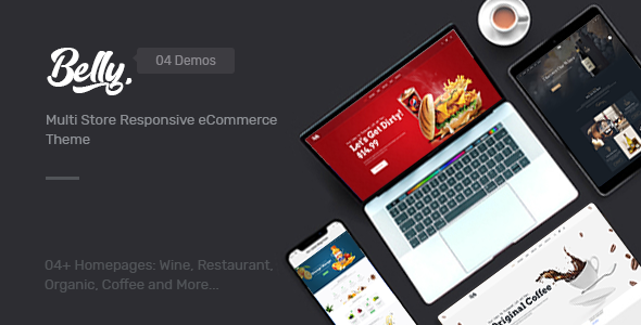 BELLY - WINE, FOOD & DRINK THEME FOR OPENCART 3.X