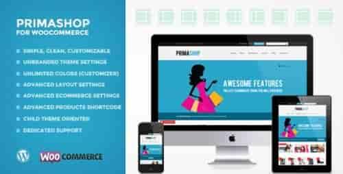 Nulled PrimaShop – Clean WooCommerce WordPress Theme