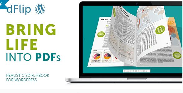 dFlip v1.4.2 – PDF FlipBook WordPress Plugin