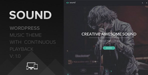 Download – Sound Music Theme v1.1 – With Continuous Playback