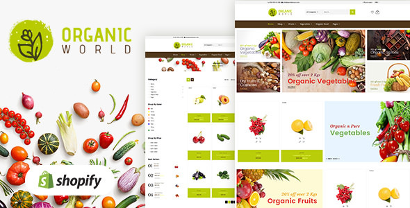 ORGANIC V1.0 - SHOPIFY THEME FOR ORGANICS STORE