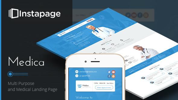 Medica - Instapage Medical Landing Page
