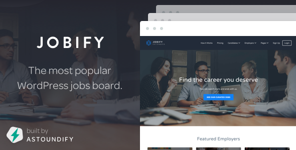JOBIFY V3.4.0 - THEMEFOREST WORDPRESS JOB BOARD THEME