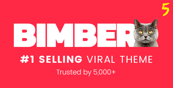 BIMBER V5.6 - VIRAL MAGAZINE WORDPRESS THEME