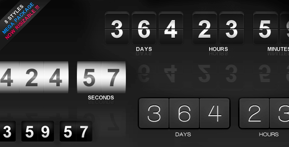 Download – jCountdown Mega Package jQuery Plugin