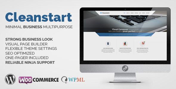 CLEANSTART V1.5.5 - CLEAN MULTIPURPOSE BUSINESS THEME