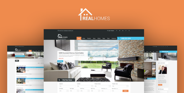 REAL HOMES V2.6.2 - THEMEFOREST WORDPRESS REAL ESTATE THEME