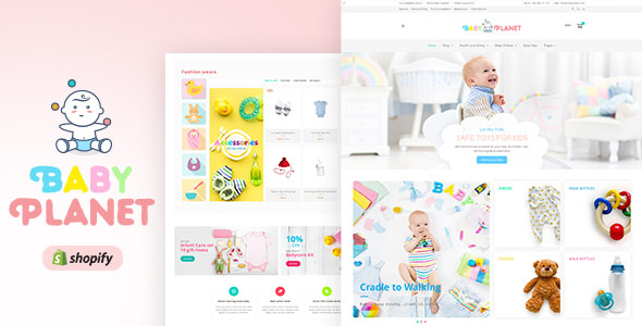BABY PLANET V1.0 - KIDS TOYS & RESPONSIVE SHOPIFY THEME