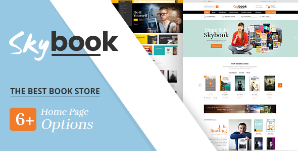 SKYBOOK - BOOK SHOP RESPONSIVE PRESTASHOP THEME