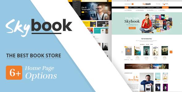 SKYBOOK - BOOK SHOP RESPONSIVE PRESTASHOP THEME