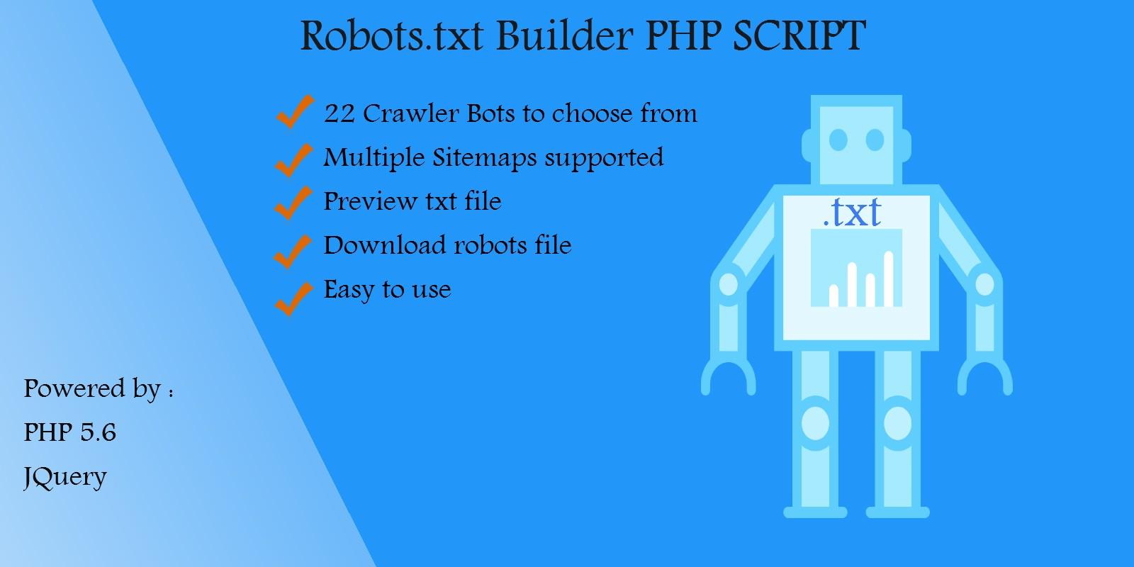 Download – Robots.txt Builder PHP Script