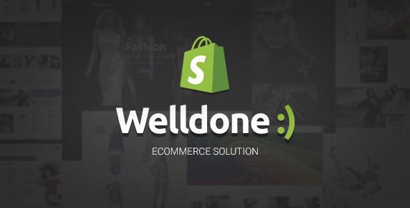 WELLDONE V1.6.4 - MATERIAL RESPONSIVE SHOPIFY THEME