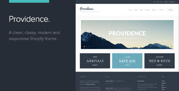 PROVIDENCE - THEMEFOREST SHOPIFY THEME