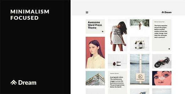 DREAM V1.0.5 - BUSINESS, BLOG & PORTFOLIO THEME