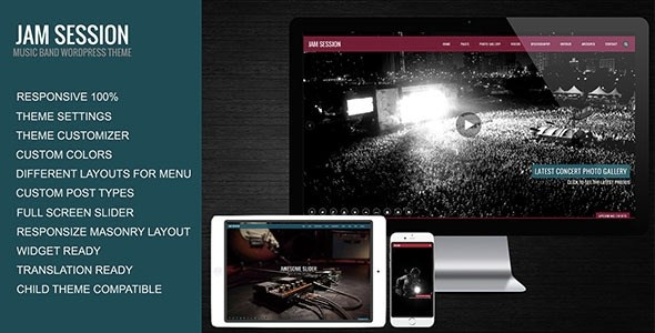 JamSession v4.6.6 – Music & Music Band WordPress Theme
